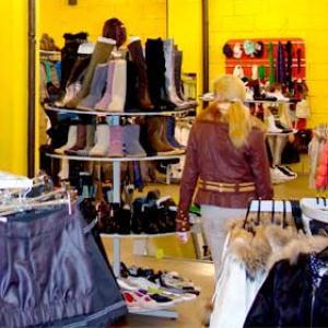 Магазины одежды и обуви Морков